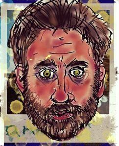 """""""Self Portrait - Mixed Media"""""""